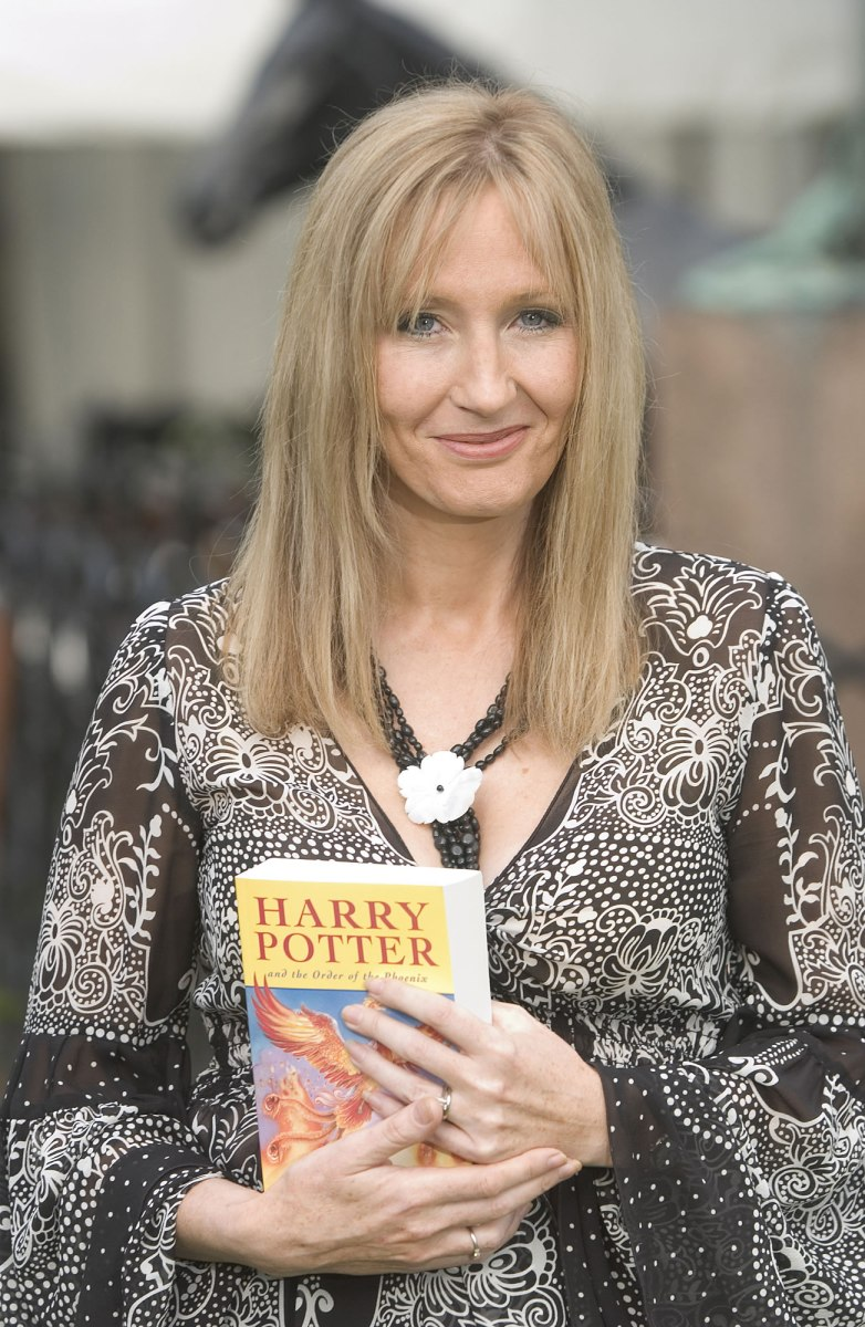 An inspiring life lesson from J.K. Rowling